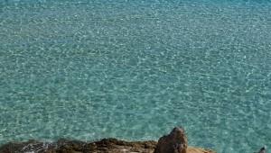 L'acqua cristallina del mare