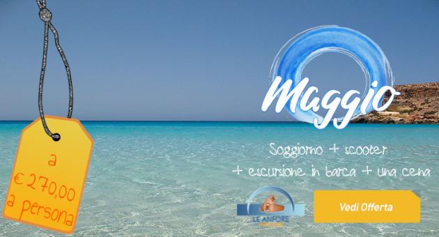 Lampedusa Promo Maggio 2021