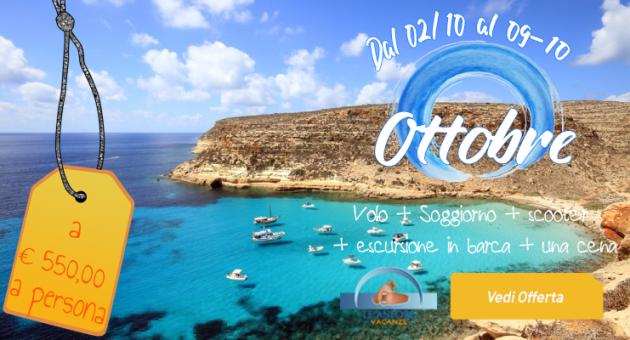 Offerta Ottobre Lampedusa